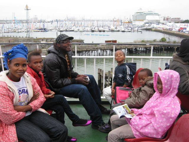 SWVG organised a day trip to the Isle of Wight